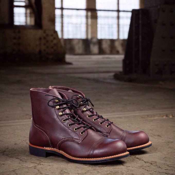 red wing 8119 iron ranger