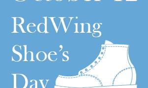 10月12日【レッドウィングの日】のお知らせ