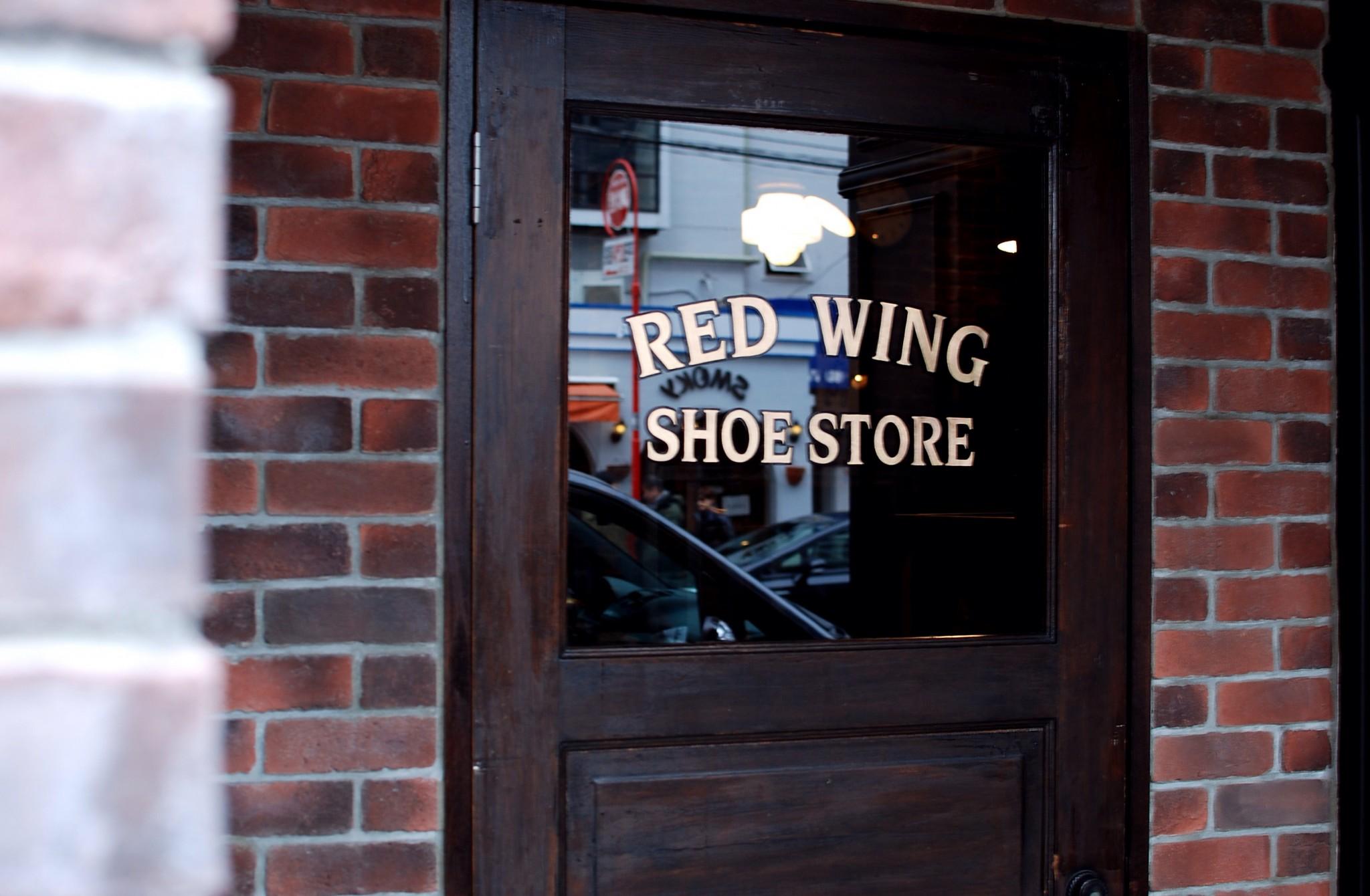 red wing shoe store tokyo aoyama