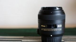 Horiはカメラレンズ【AF-S DX Micro NIKKOR 40mm f/2.8G】を手に入れた!