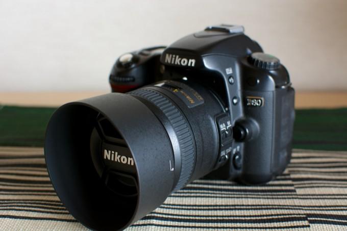 [AF-S DX Micro NIKKOR 40mm f/2.8G][Nikon D80]