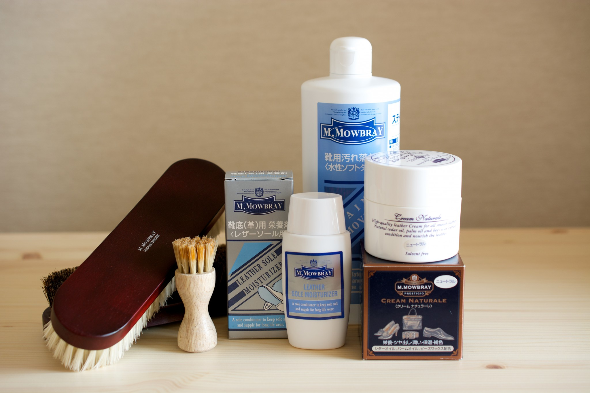 [M.Mowbray]Shoe Care Goods]