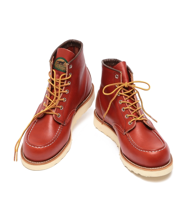 Red Wing 9876ビームス半円犬タグ別注