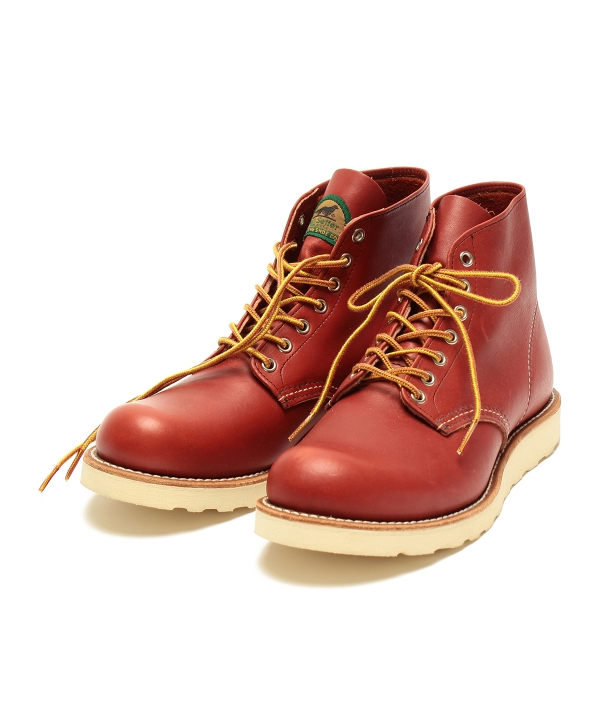 Red wing 9872ビームス半円犬タグ別注