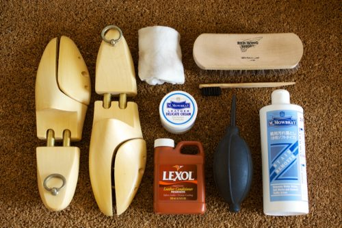 Shoe care goods