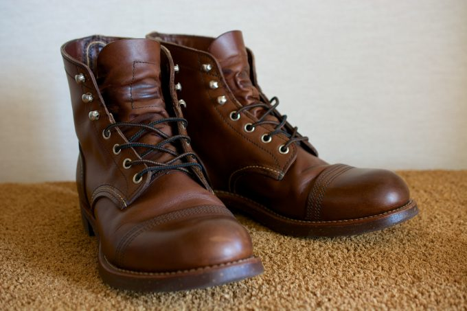 [RedWing 8111 IronRanger AmberHarness]