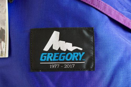 [Gregory 40th Anniversary Blue Letter]