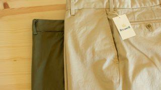 リゾルト710ファンの皆さんに穿いてほしい【D.C.WHITE】のドレスチノパン