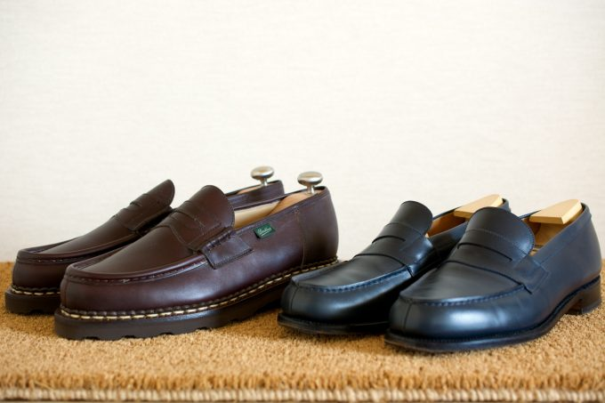 [Paraboot Reims Cafe][J.M.WESTON 180 Signature Loafer Bleu BoxCalf]