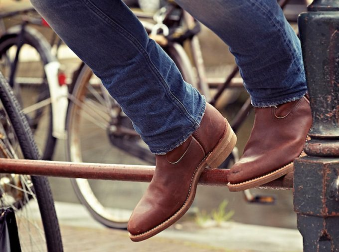 [Red Wing× Eat Dust] Oro-russet combi Pecos