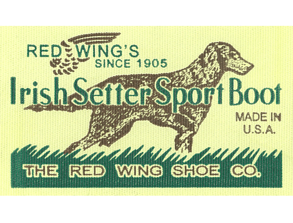 [Red Wing] Print Irish Setter Tag