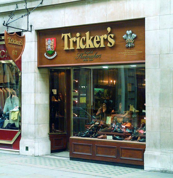 Tricker's Jermyn street