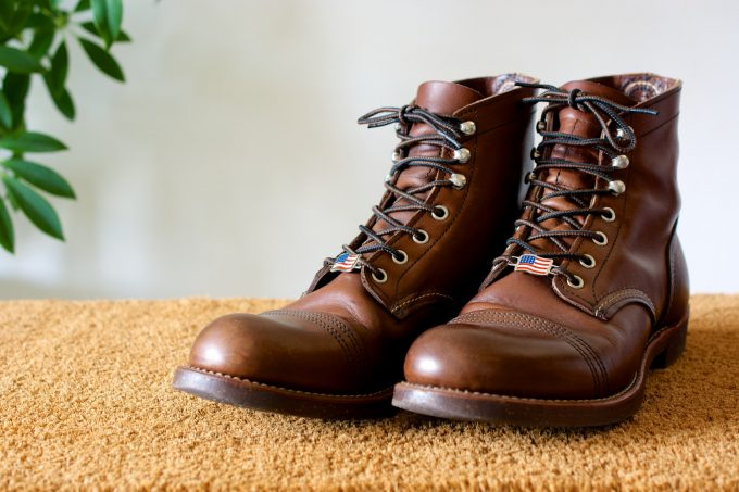 [Red wing] Lace keepers