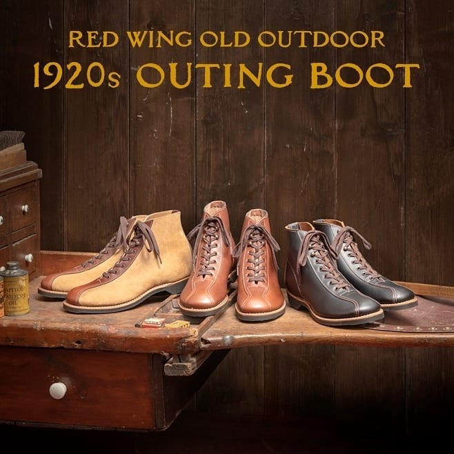 [Red wing] 1920s Outing boot