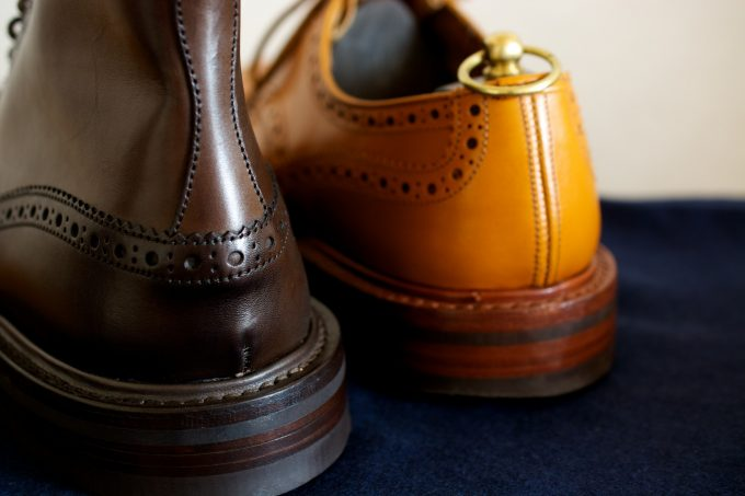 [Tricker's Country Boots Espresso Burnished]