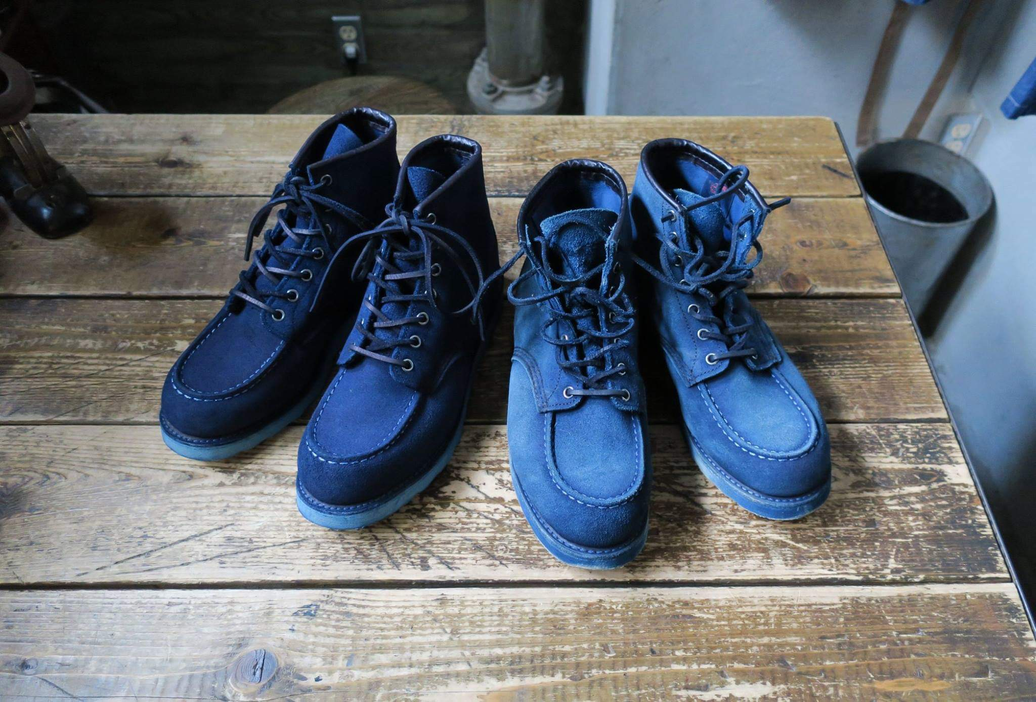 Red wing heritage 8173 Indigo over dye
