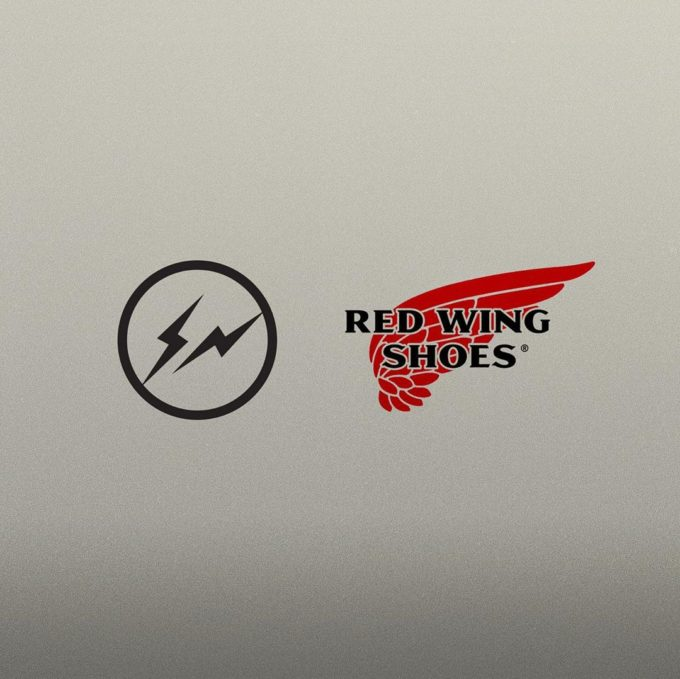 Red wing x Fragment design